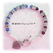 Designs by Debi Handmade Jewelry Personalized Keepsake Bracelet Couples