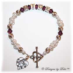Designs by Debi Handmade Jewelry Keepsake Bracelet In Memory of a Loved One
