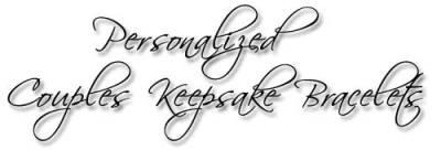 Designs by Debi Handmade Jewelry Personalized Couples Keepsake Bracelets