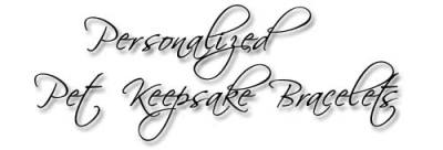 Designs by Debi Handmade Jewelry Personalized Pet Keepsake Bracelets