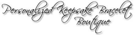 Designs by Debi Handmade Jewelry Personalized Keepsake Bracelet Boutique