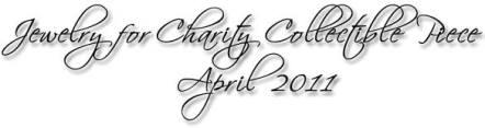 Designs by Debi Handmade Jewelry Jewelry for Charity Piece April 2011