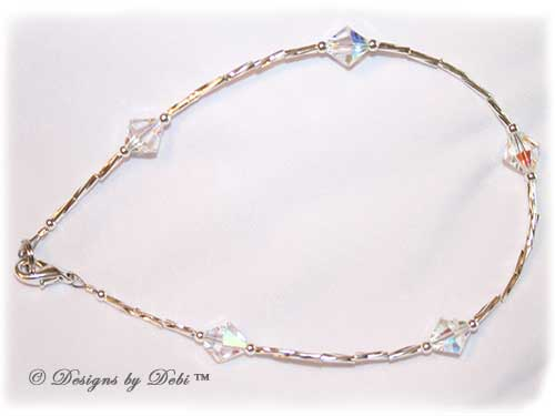 Designs by Debi™ Signature Collection Anklet sample in Crystal AB