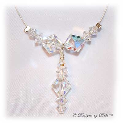 Designs by Debi™ Signature Collection sample necklace in Crystal AB