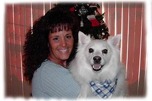Debi and Niko on Christmas