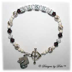 Handmade Jewelry Personalized Graduation Bracelets