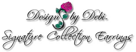 Designs by Debi Handmade Jewelry Signature Collection Earrings
