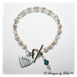 Designs by Debi Handmade Jewelry Personalized Keepsake Bracelet ali style