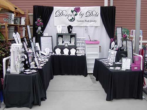 photo of Designs by Debi show booth