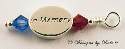 Designs by Debi Handmade Jewelry In Memory Dangle